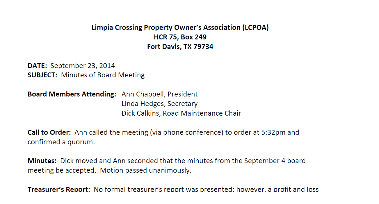 23 September 2014 Board Meeting.pdf